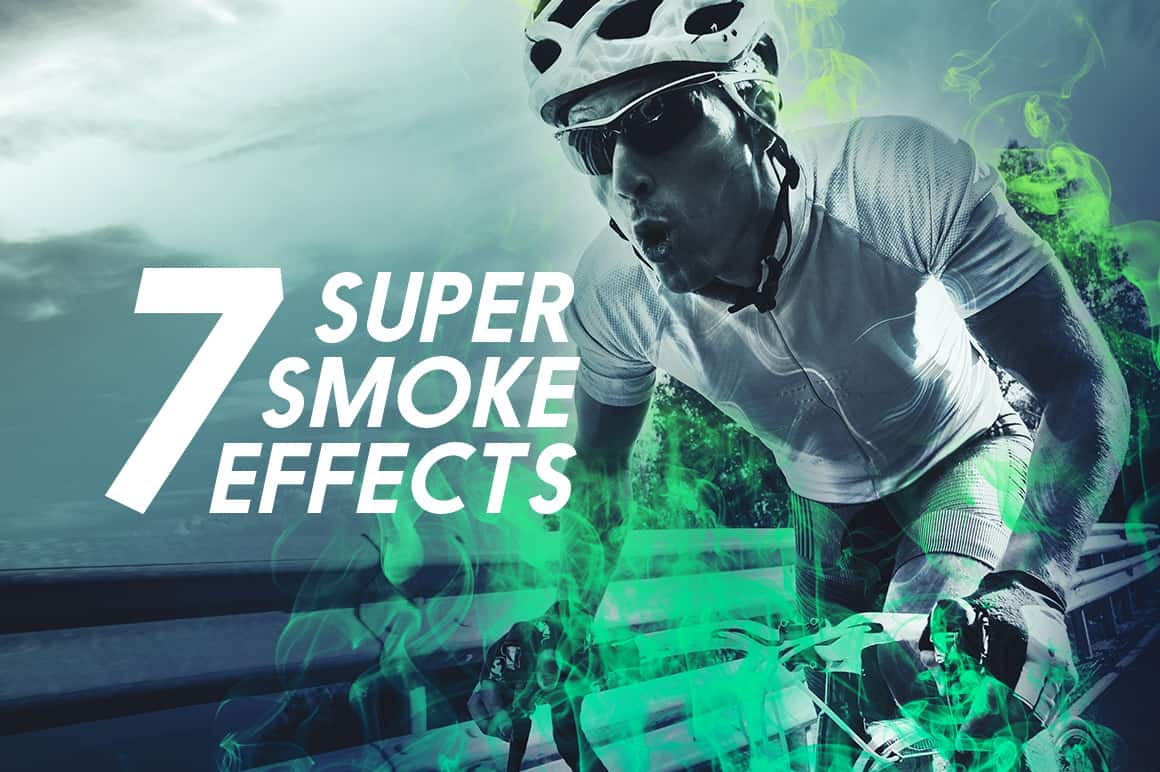 Free Photoshop Actions: Super Smoke Effects