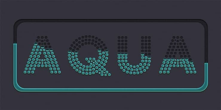How to Create a Cool Dot-Matrix Text Effect in Adobe Photoshop