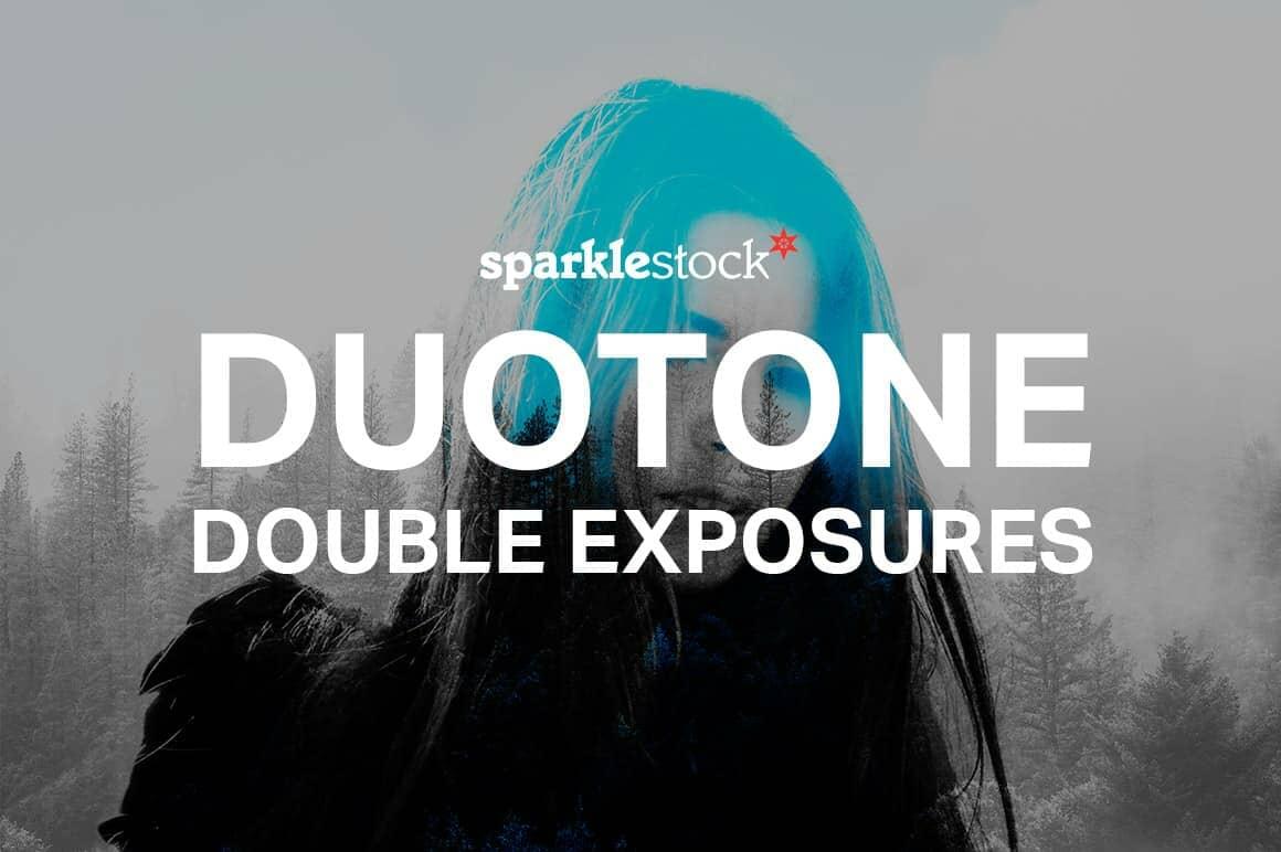 Free Duotone Double Exposure Actions