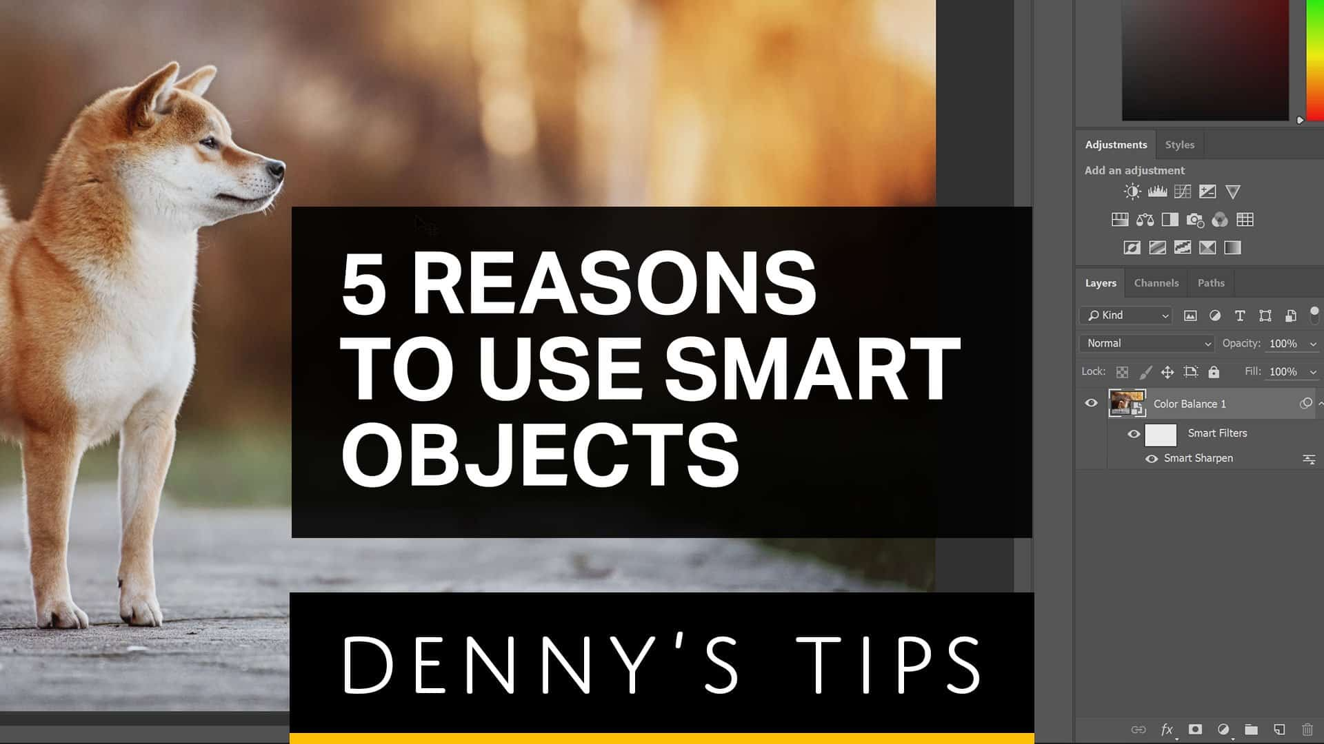 5 Reasons Why Smart Objects are AWESOME