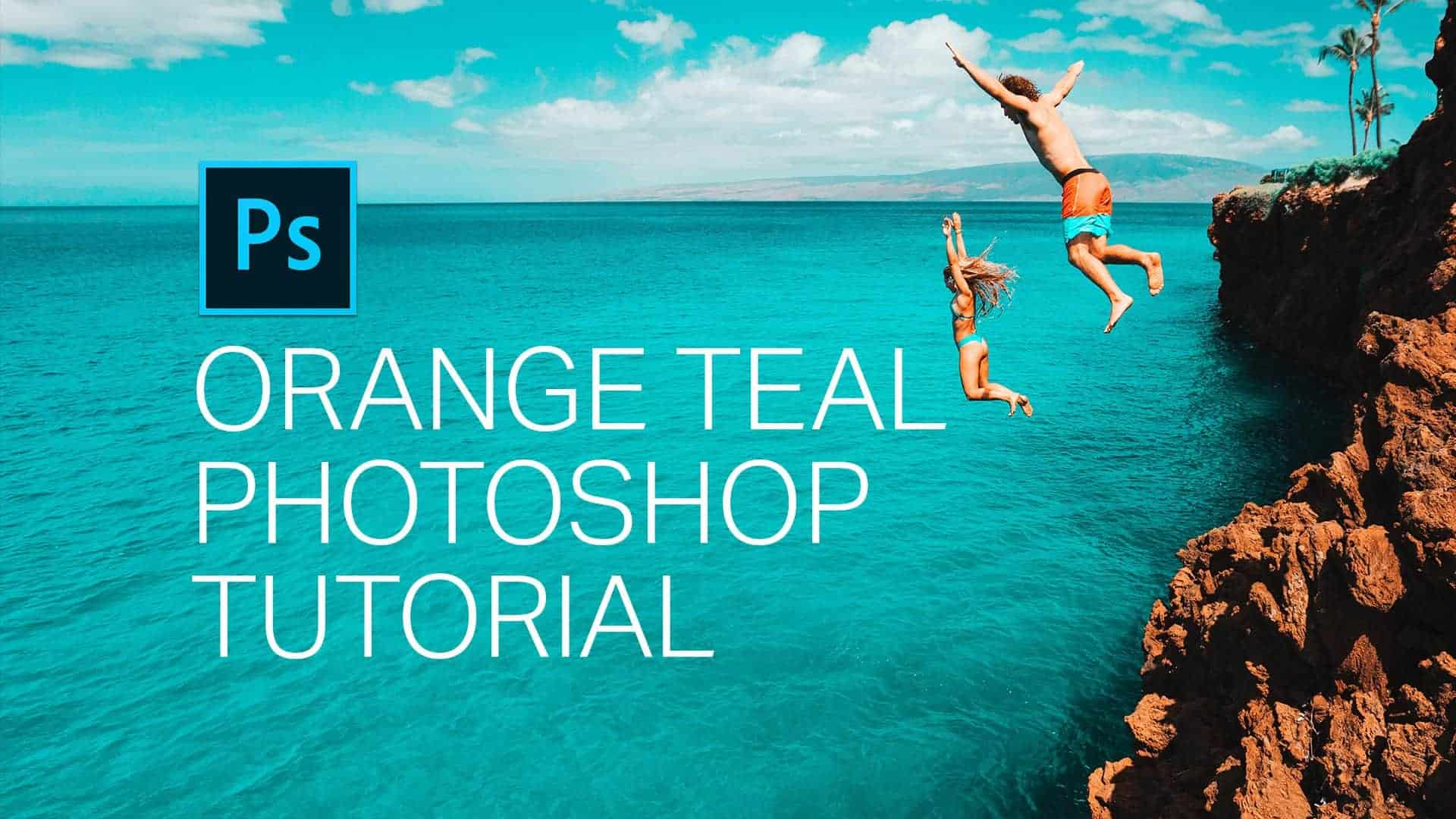 Create an Orange Teal Effect With Just 2 Layers in Photoshop