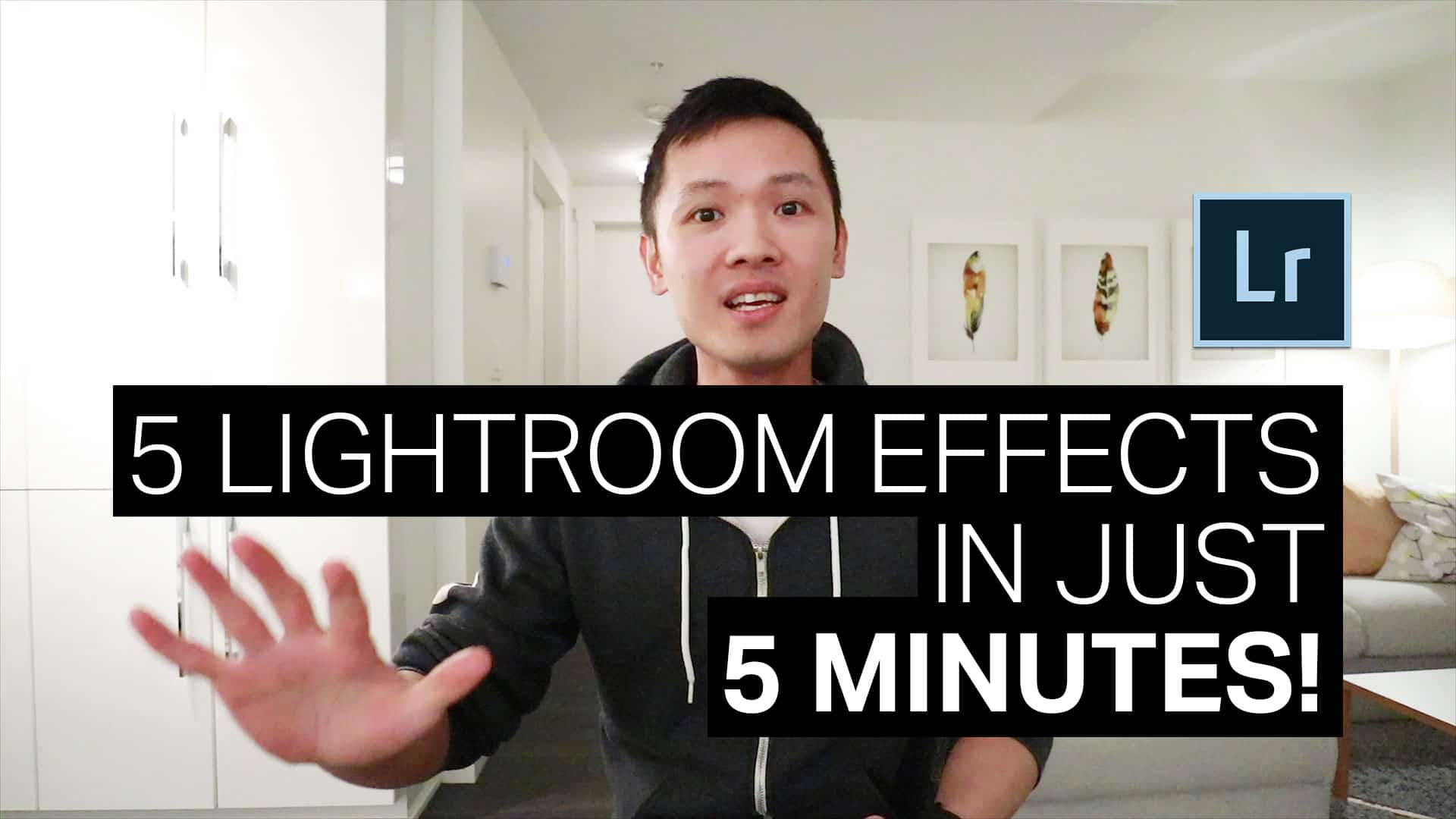 5 Popular Lightroom Effects in 5 Minutes (Reproducible in Photoshop)