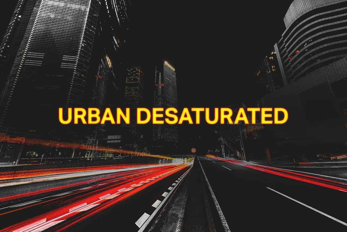 How to Create an Urban Desaturated Effect in Photoshop