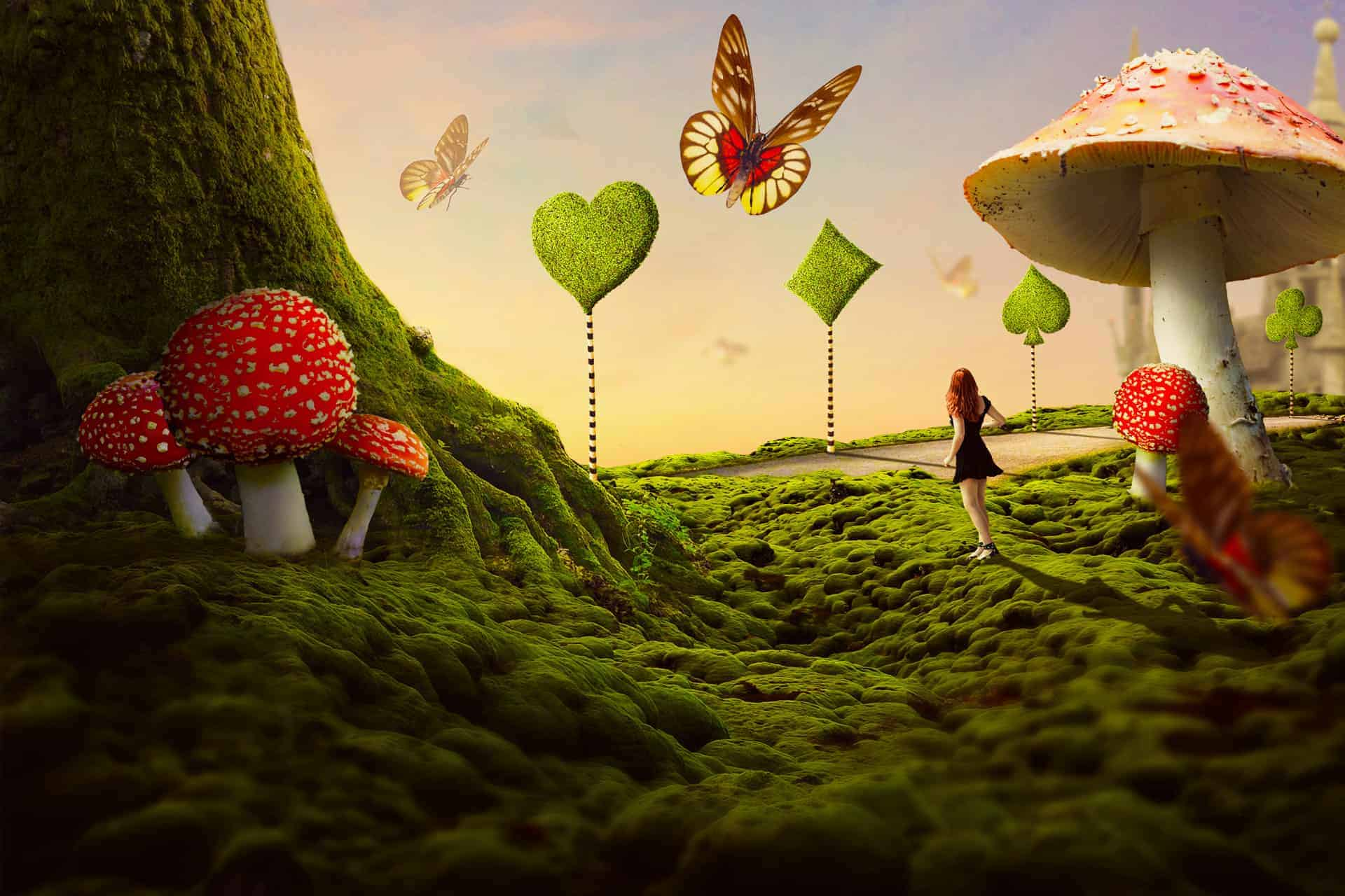 How to Create a Wonderland Photo Manipulation with Photoshop
