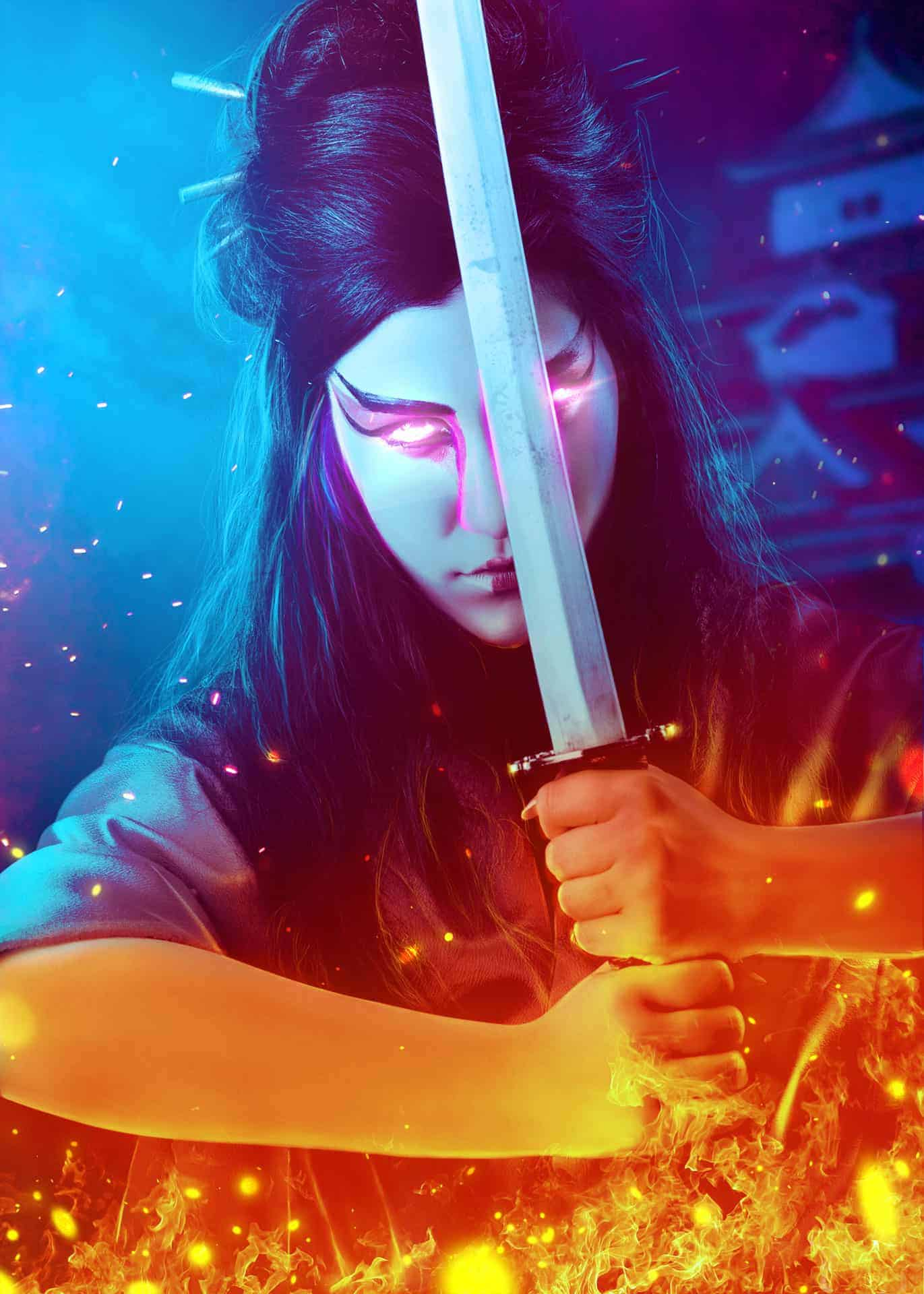 How to Create a Samurai Photo Manipulation with Photoshop