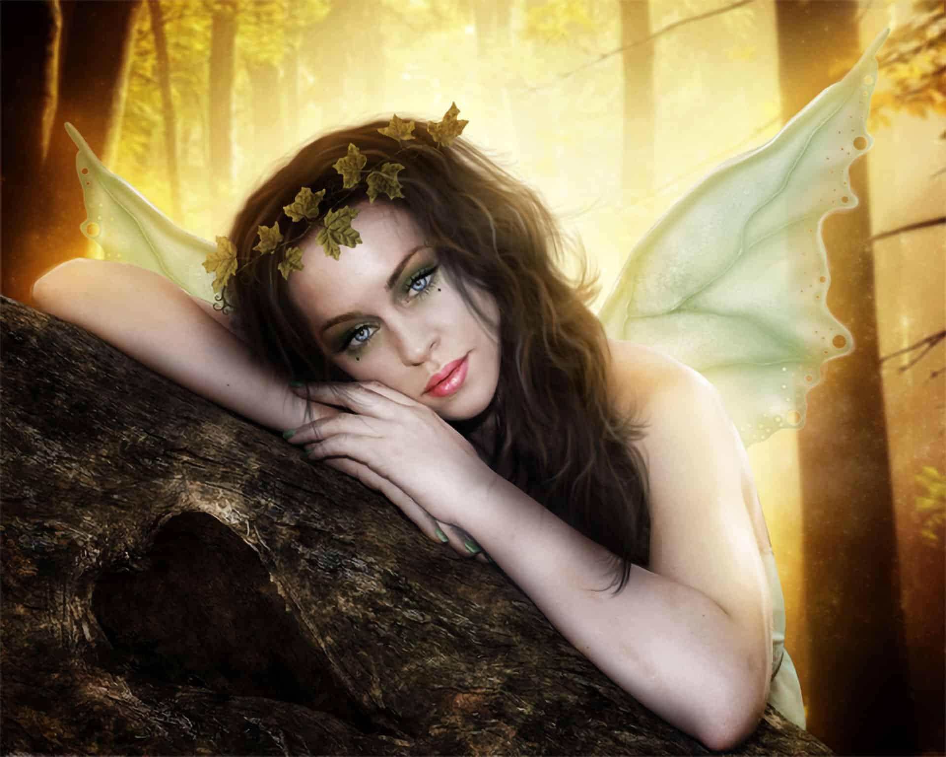 How to Create an Autumn Fairy Photo Manipulation