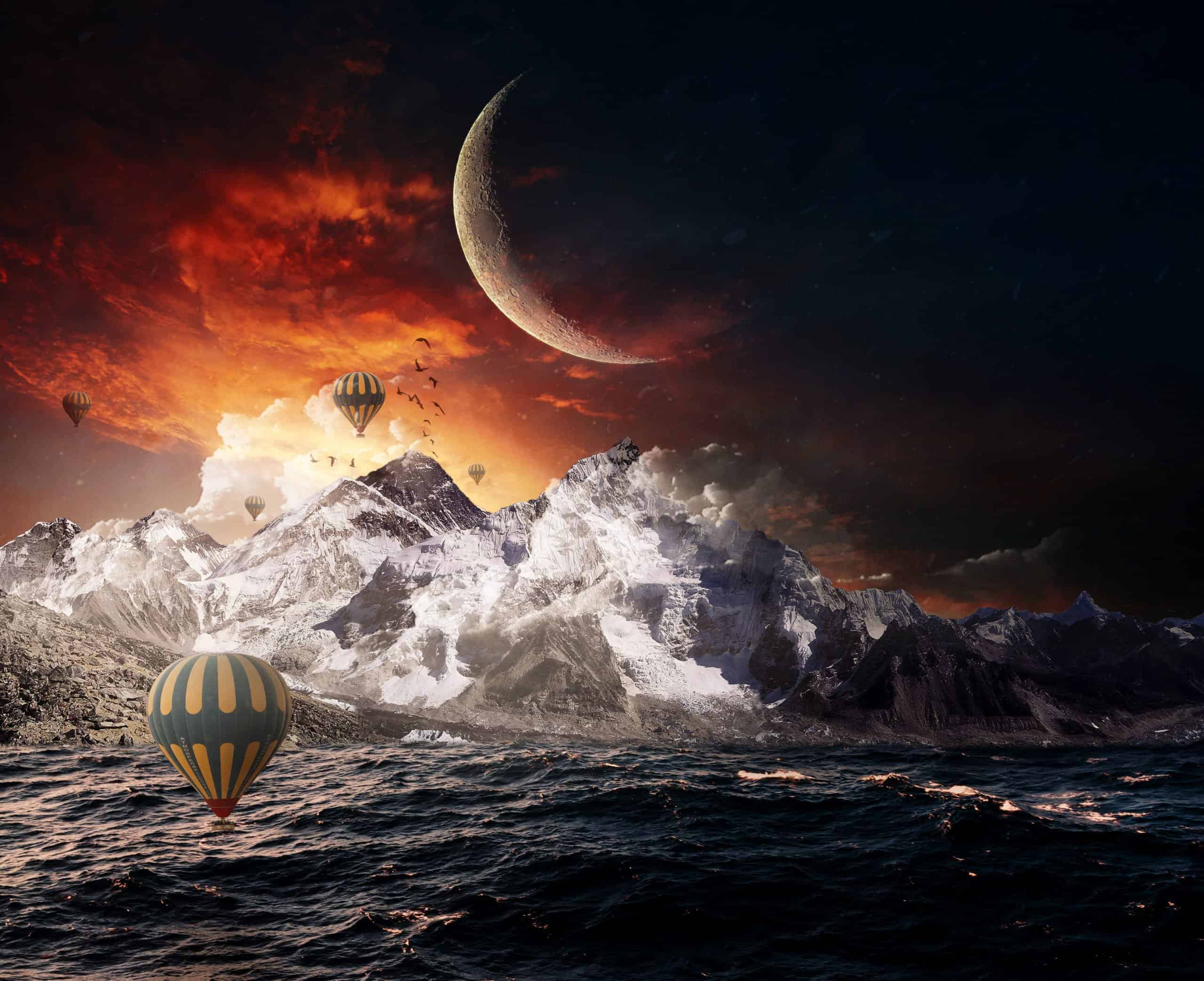 How to Create Magic Atmosphere in the Sky in Photoshop
