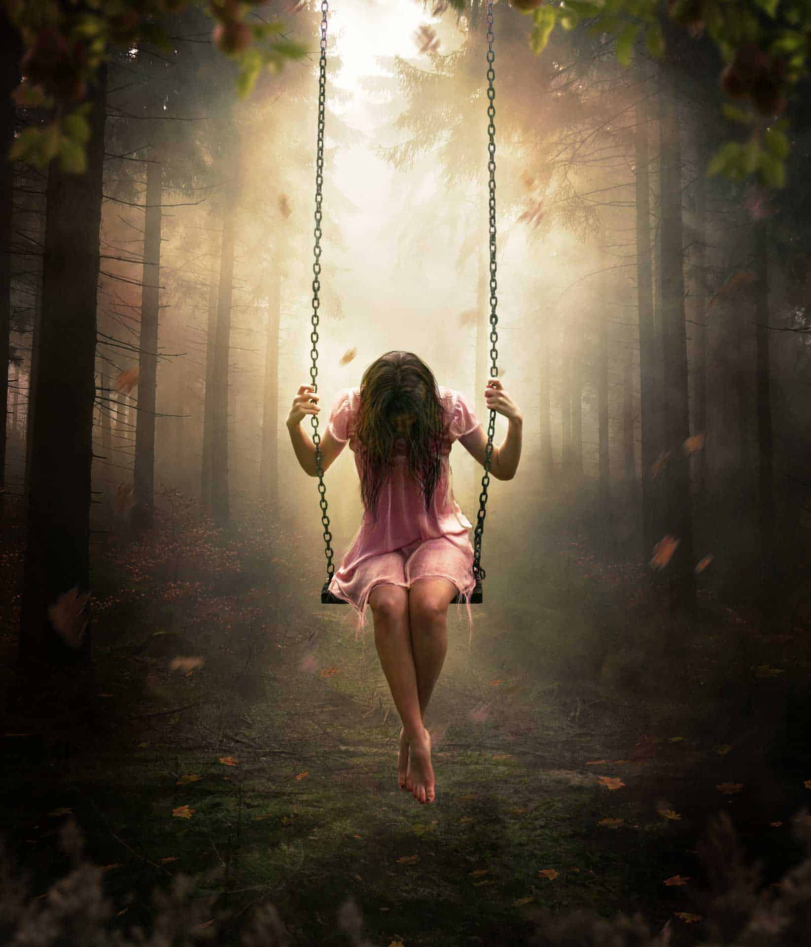 Create a Dreamlike Photo Manipulation of an Emotional Girl with a Dramatic Lighting in Photoshop