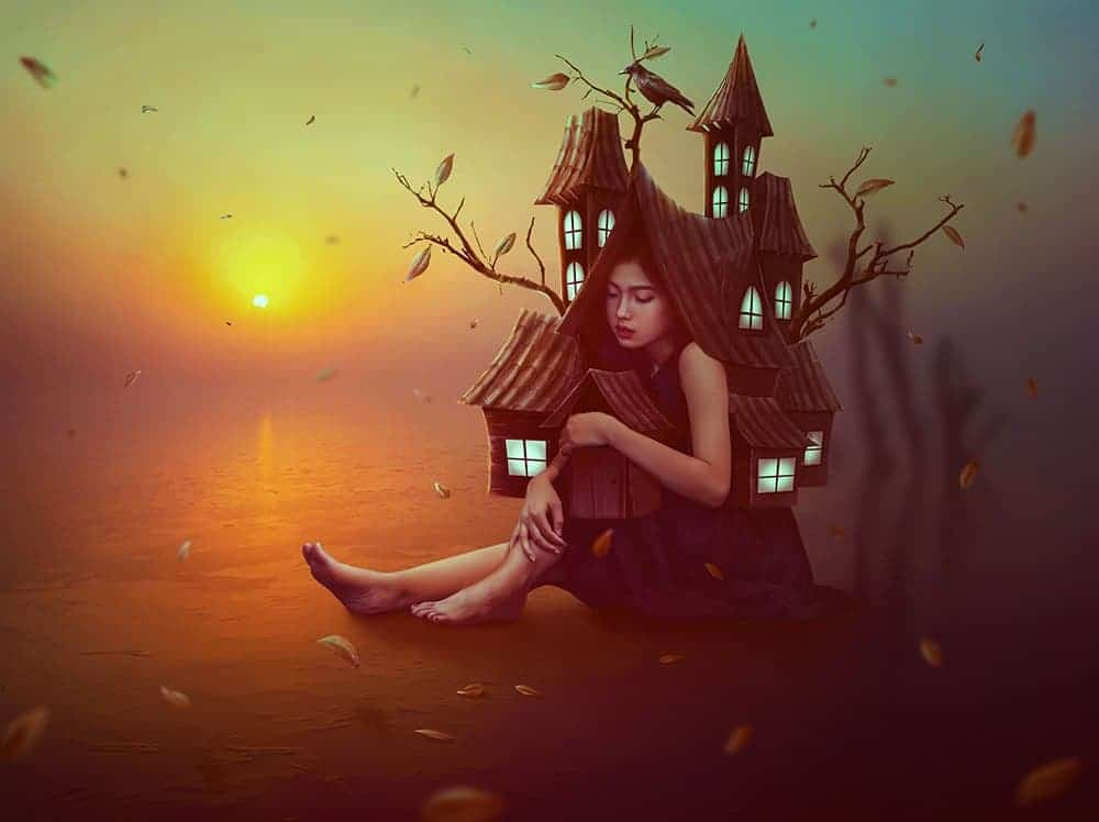 How to Create a Surreal House Photo Manipulation with Adobe Photoshop