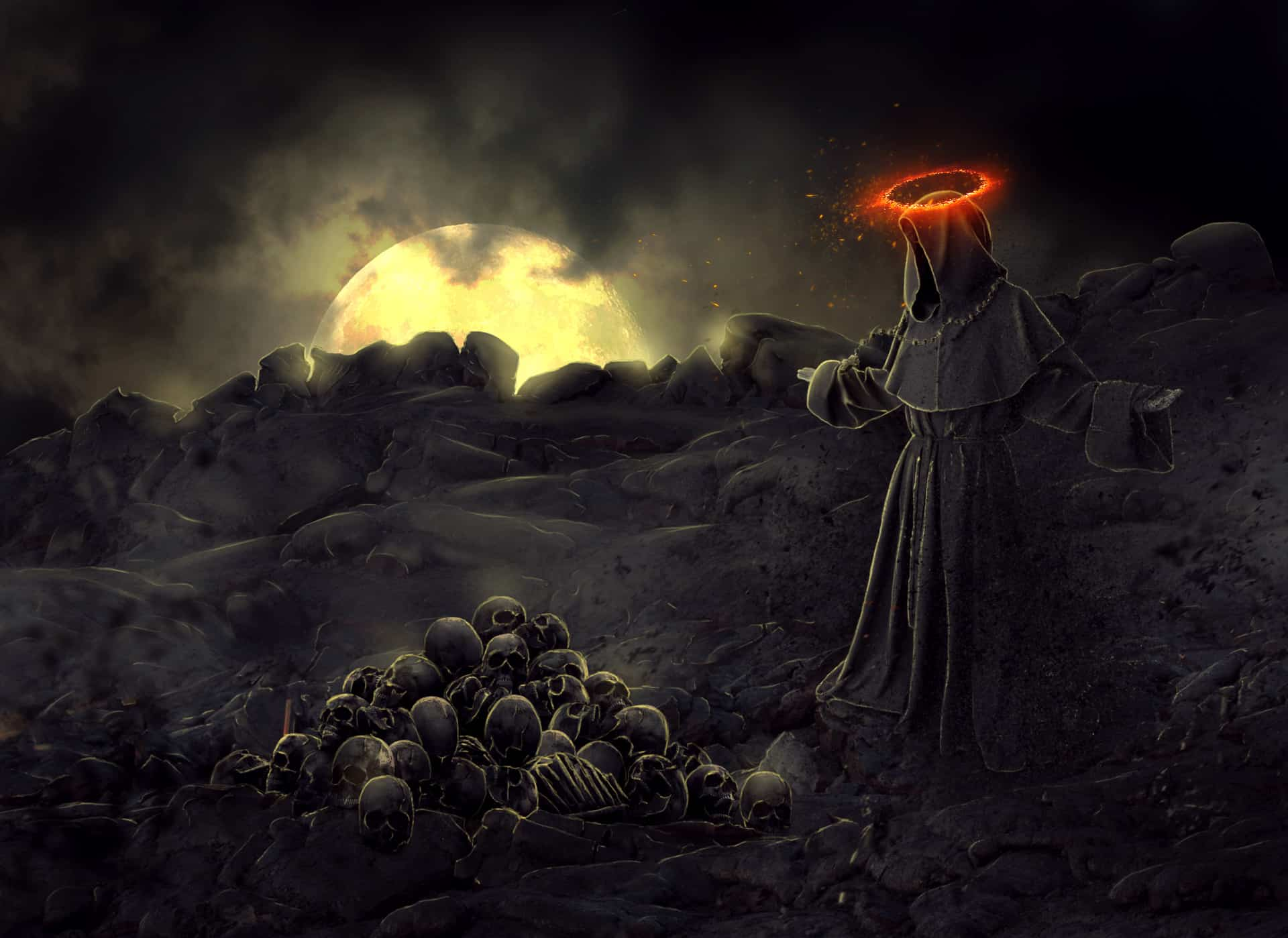 Create a Fantastic Photo Manipulation of a Dark Monk