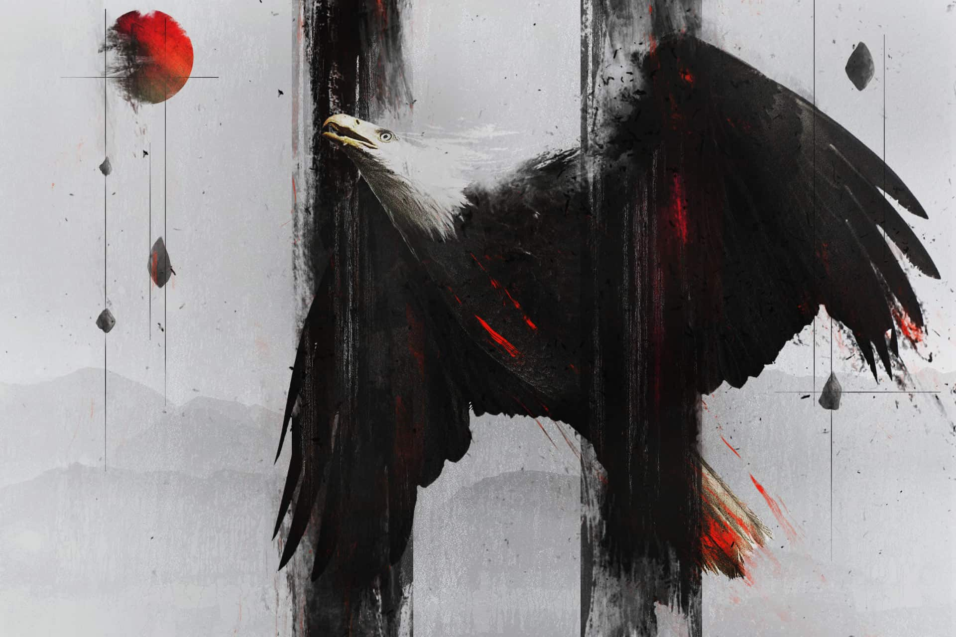 How to Create an Abstract Eagle Photo Manipulation with Adobe Photoshop