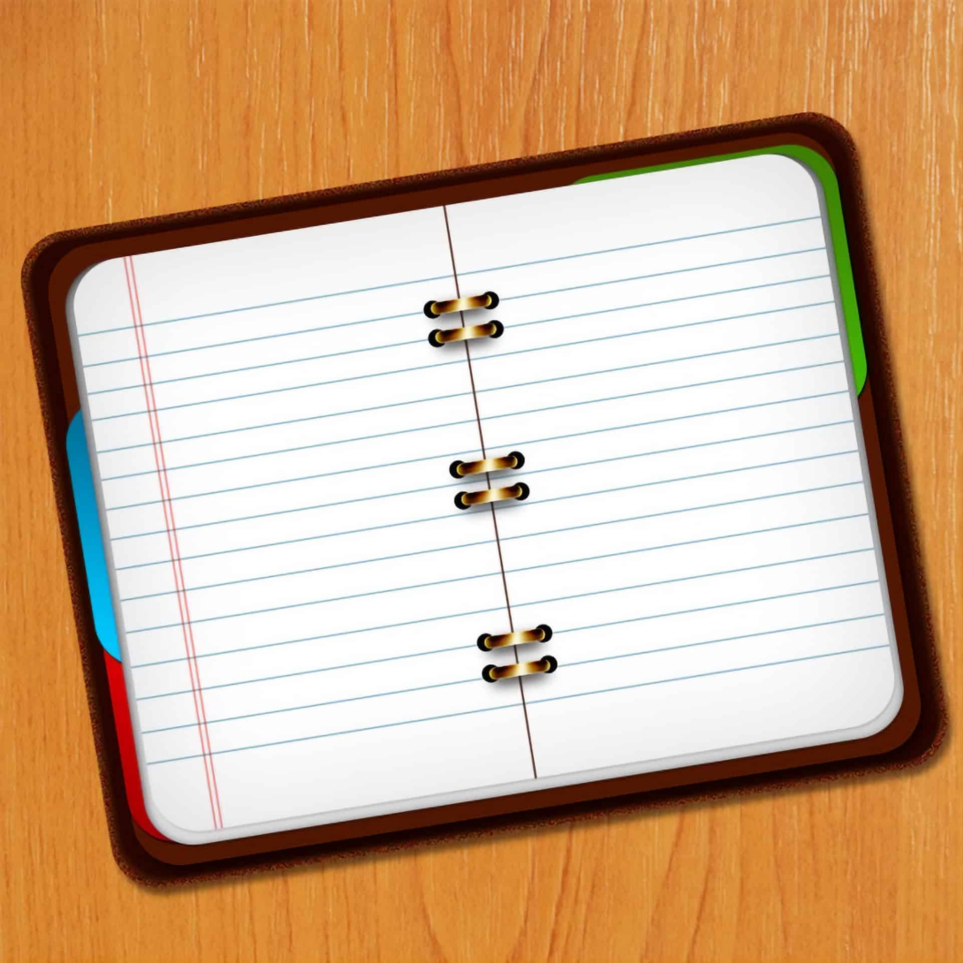 Create a Pixel-Perfect Notebook Icon in Photoshop