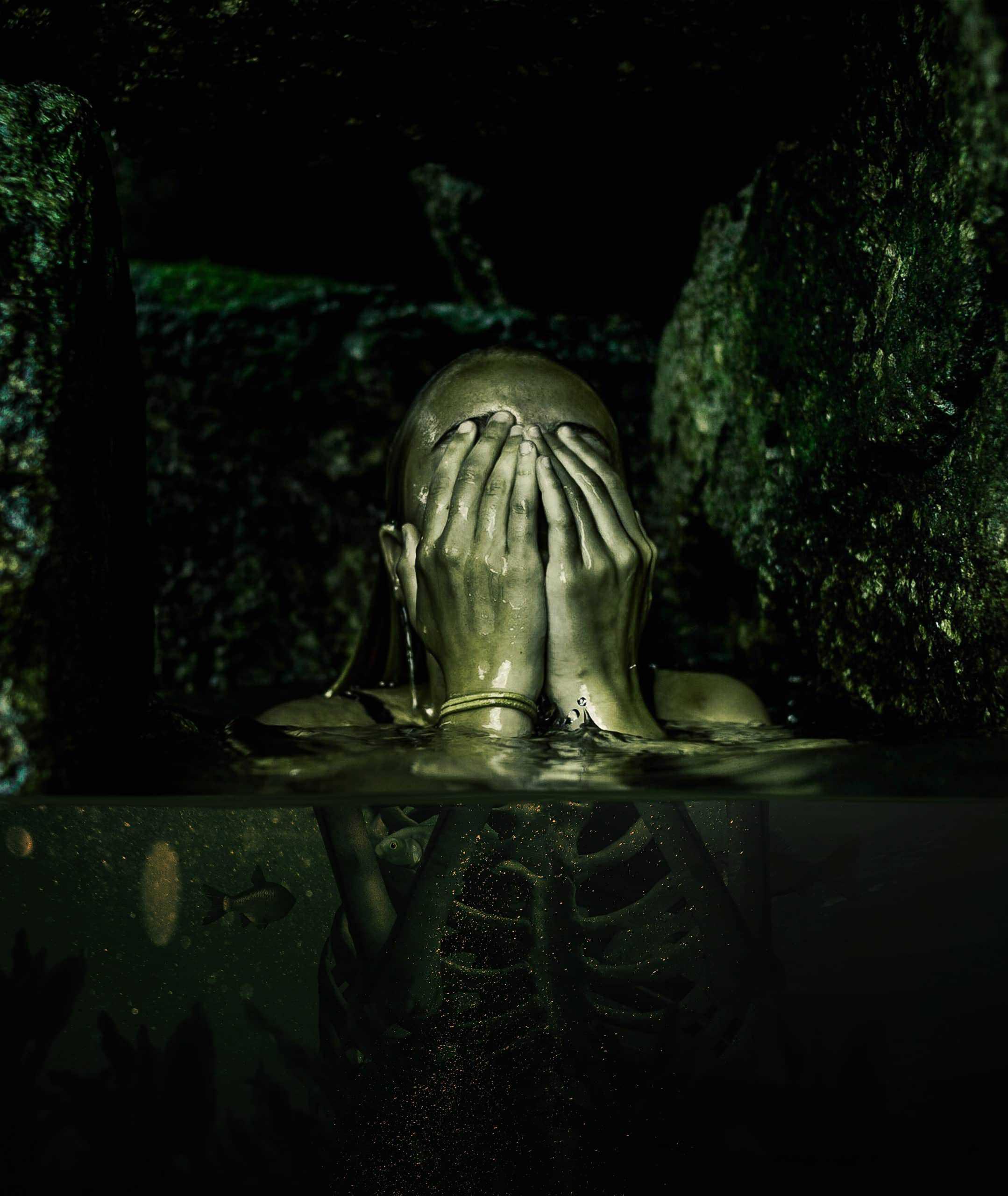 How to Create a Creepy Radioactive Water Scene in Photoshop