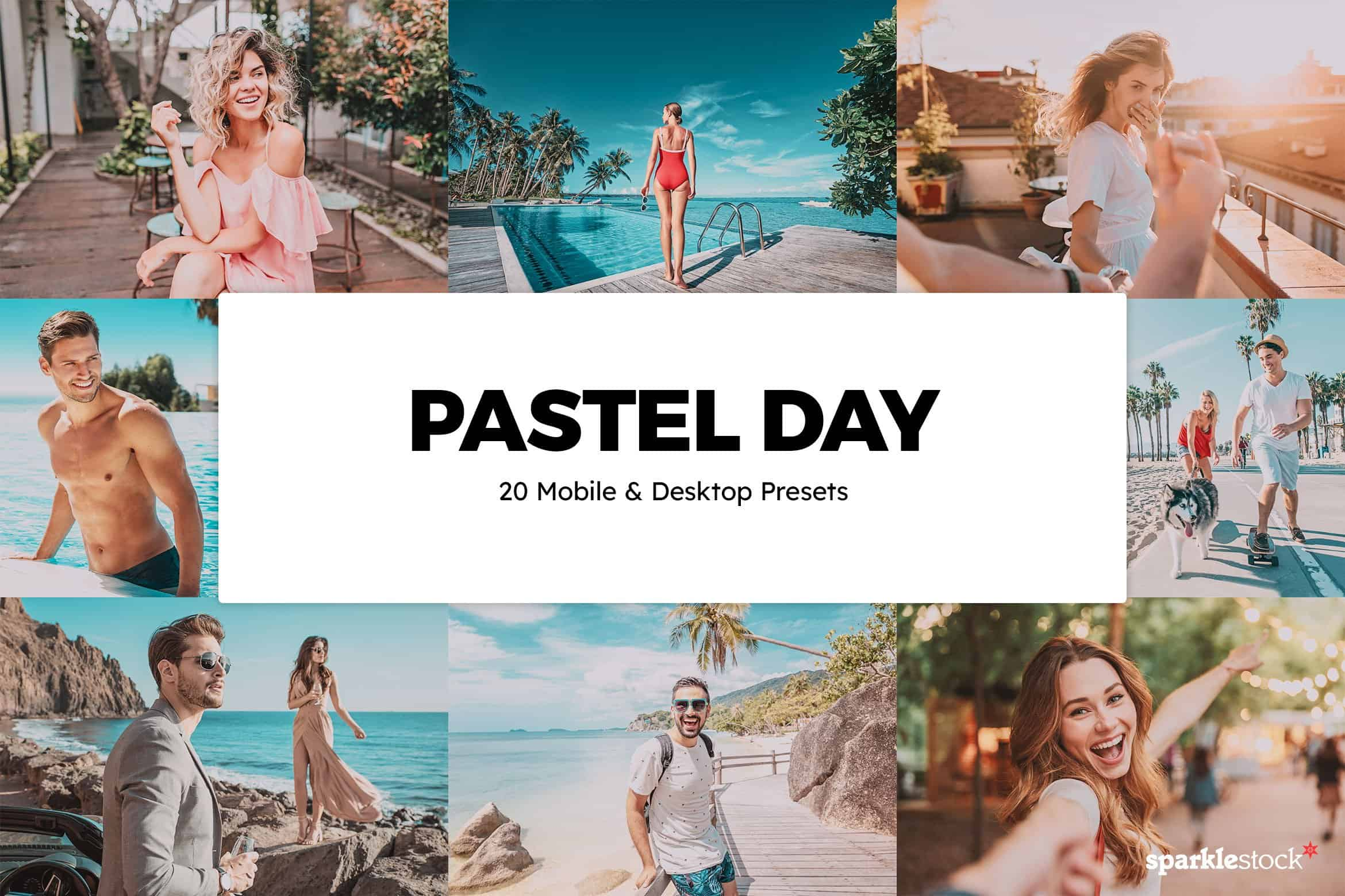 8 Free Pastel Day Lightroom Presets and LUTs