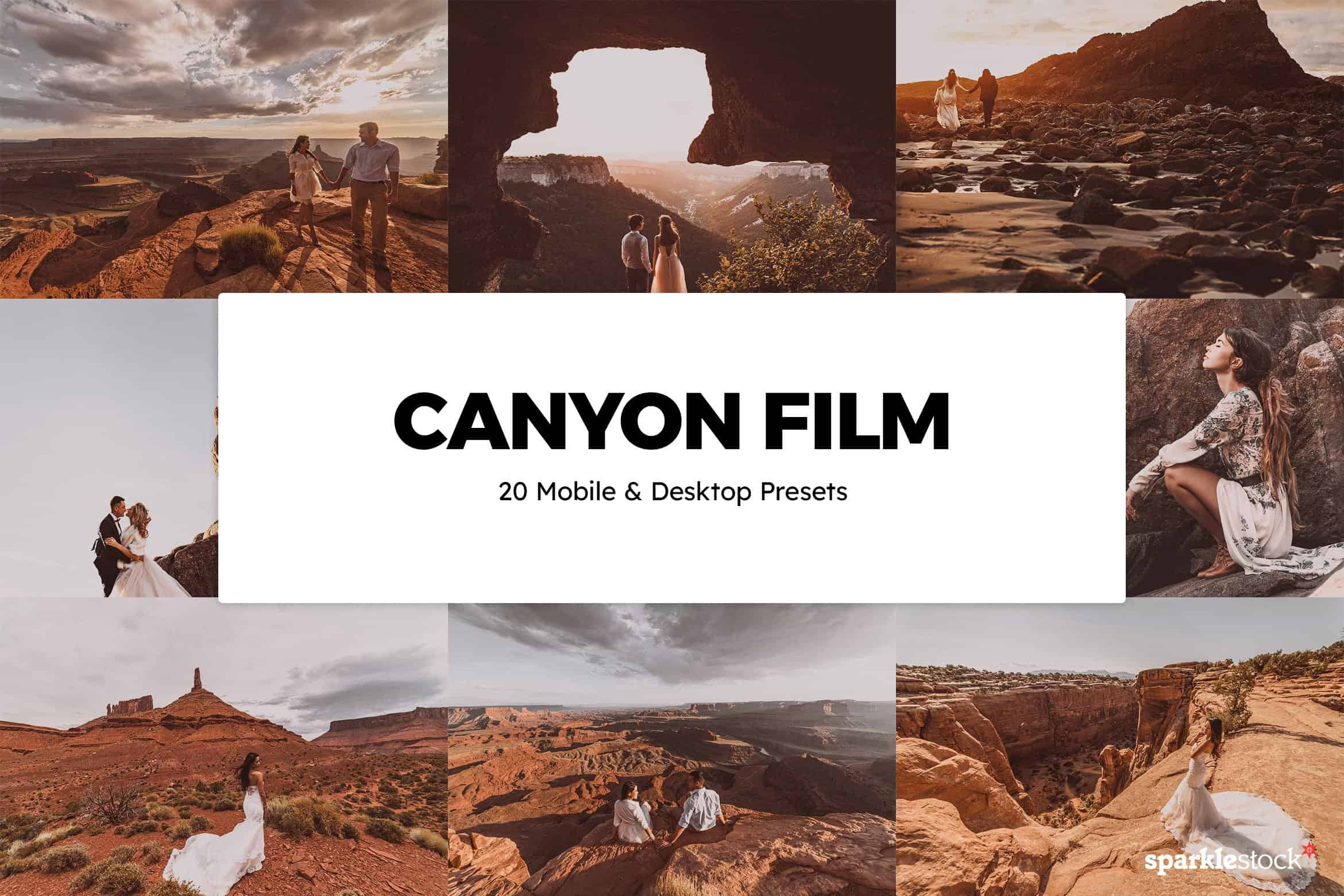 8 Free Canyon Film Lightroom Presets and LUTs