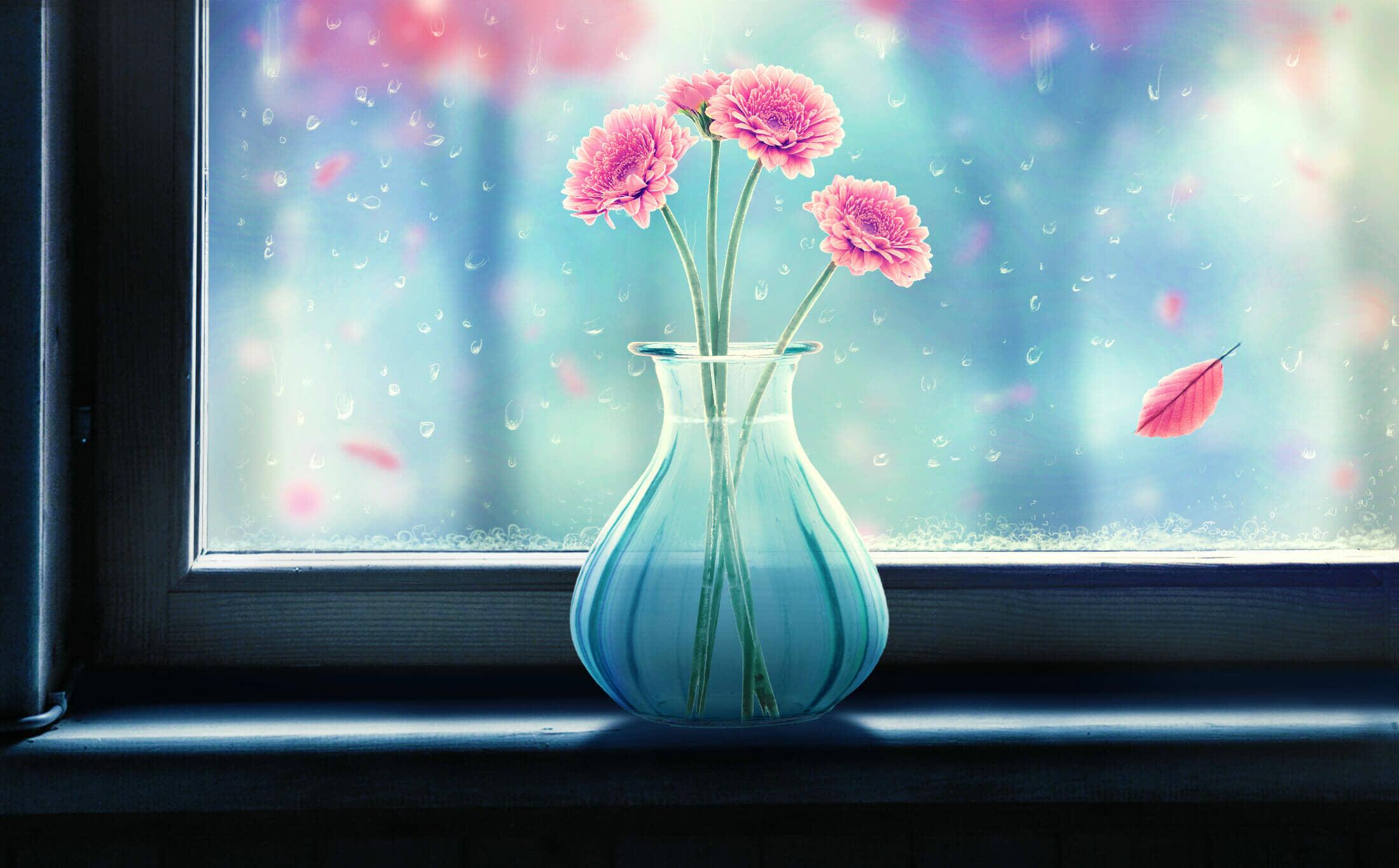 How to Create a Rainy Window Scene with Adobe Photoshop