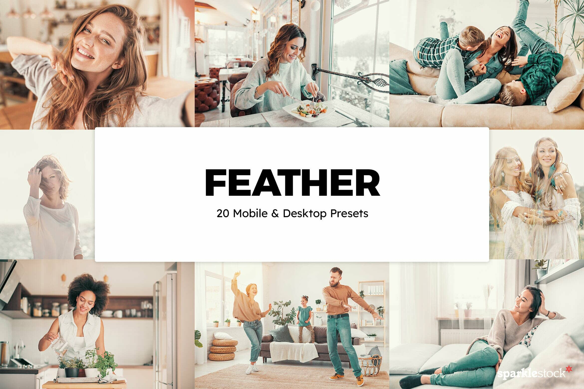 8 Free Feather Lightroom Presets and LUTs