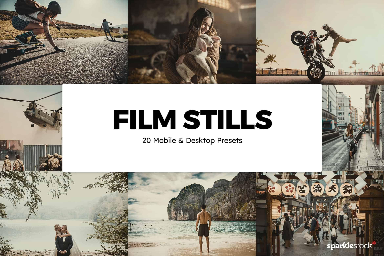 8 Free Film Stills Lightroom Presets and LUTs