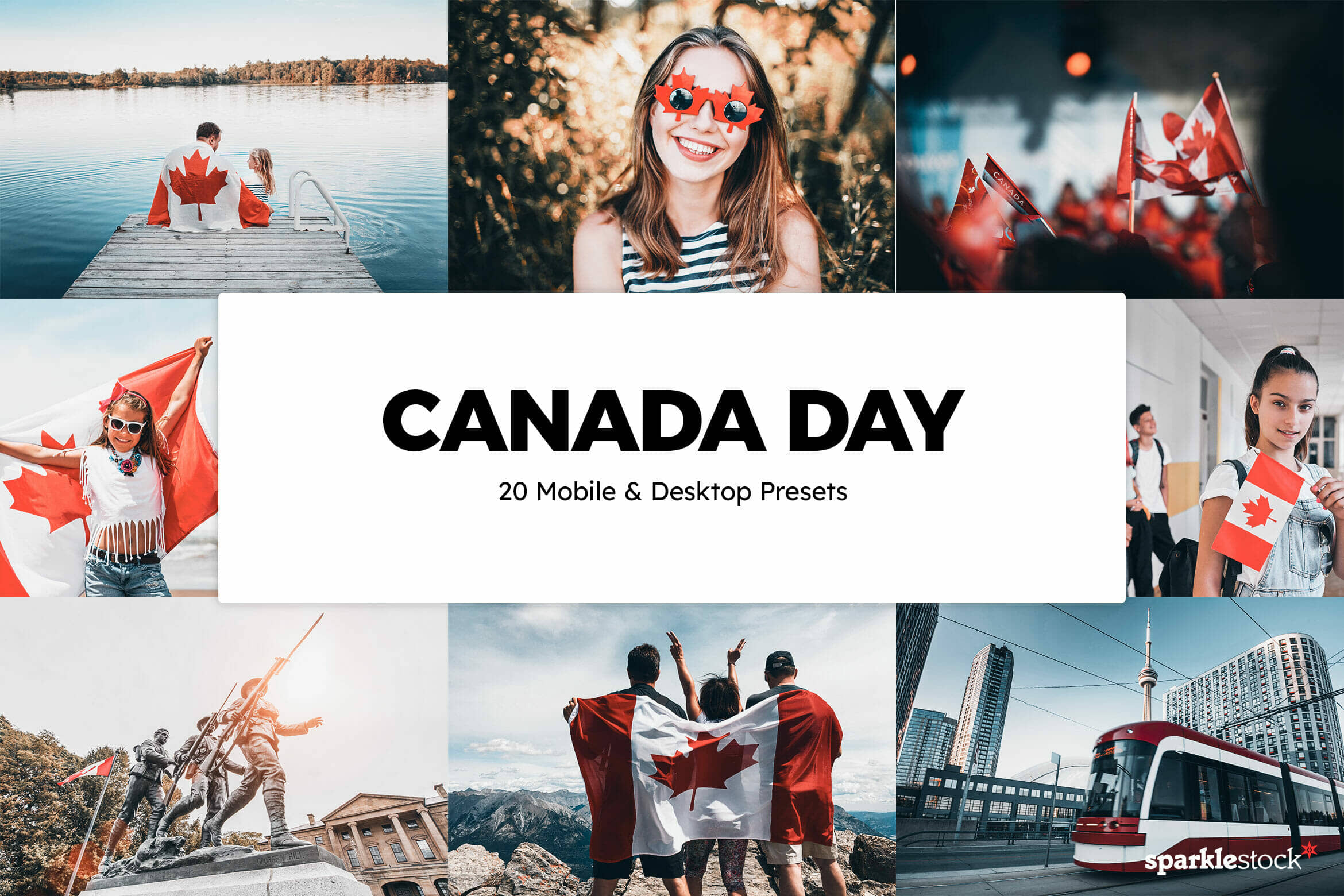 8 Free Canada Day Lightroom Presets and LUTs