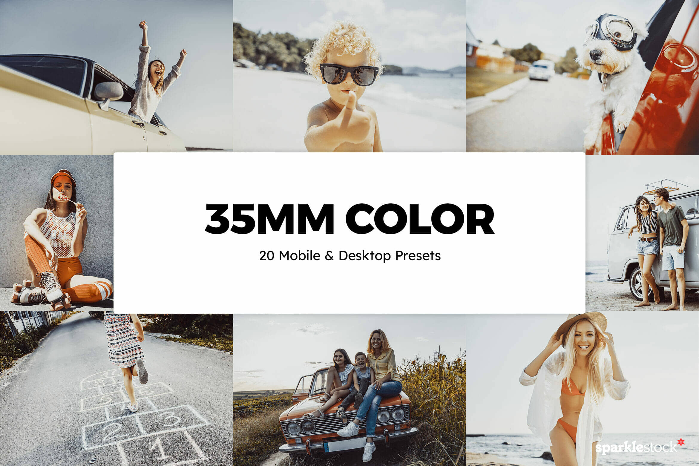 8 Free 35mm Color Lightroom Presets and LUTs