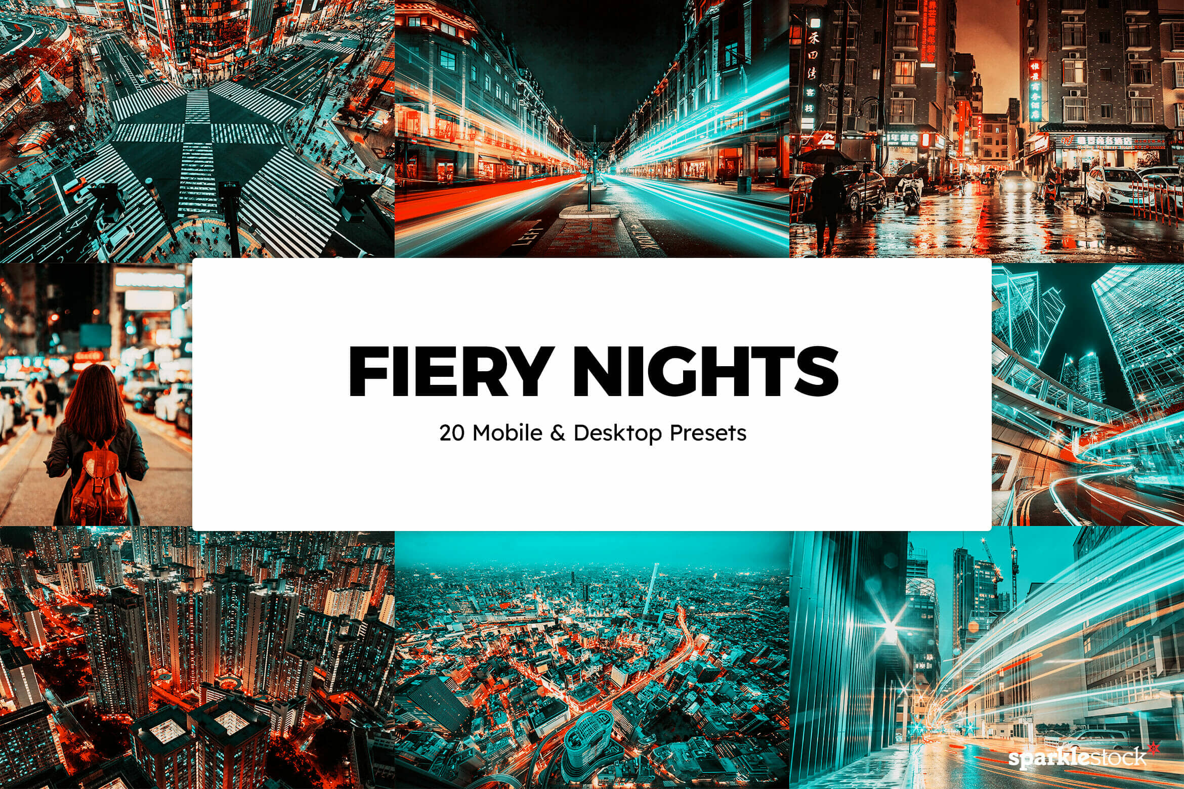 8 Free Fiery Nights Lightroom Presets and LUTs