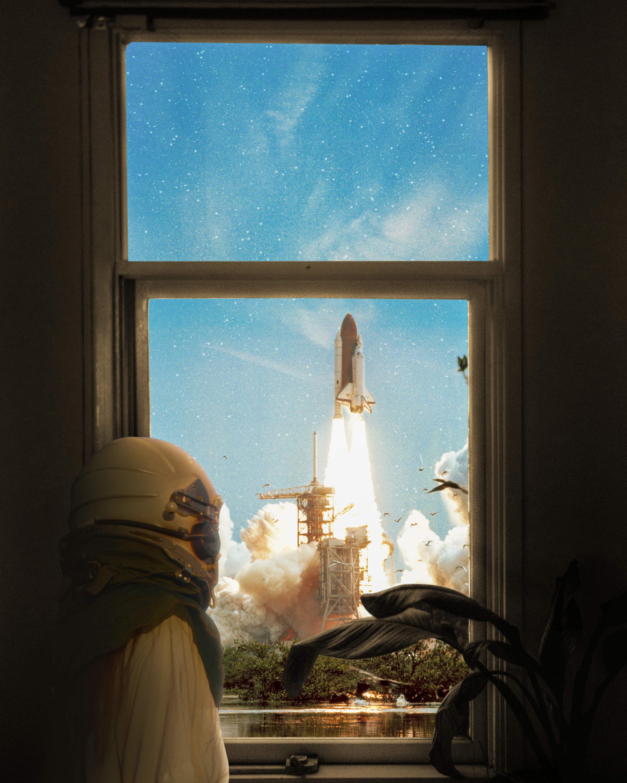 Someday - Rocketship Photoshop Tutorial
