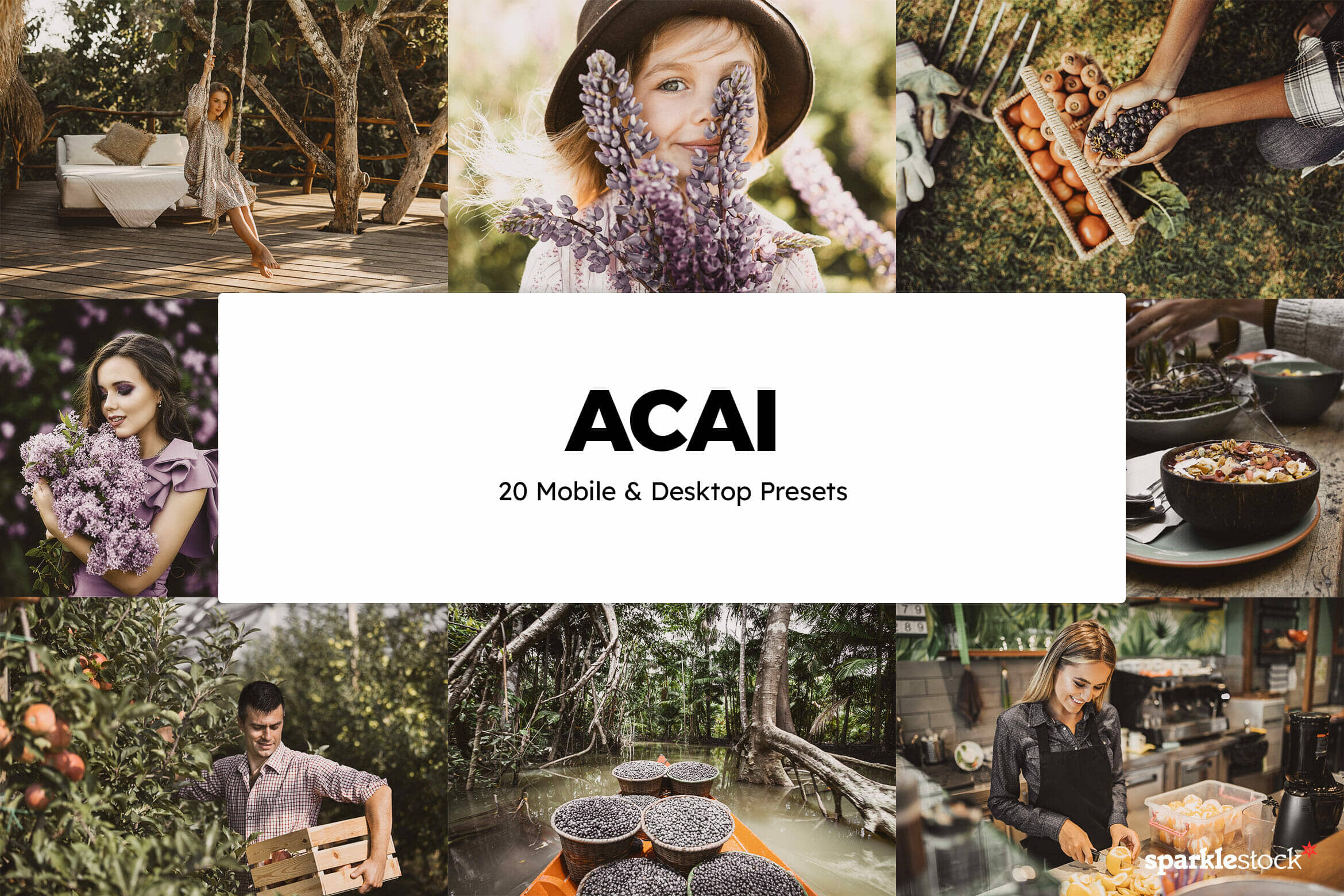 8 Free Acai Lightroom Presets and LUTs