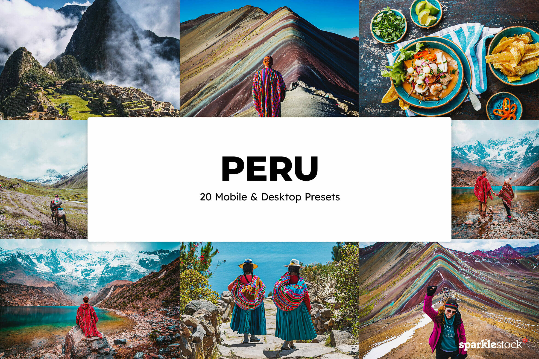 8 Free Peru Lightroom Presets and LUTs