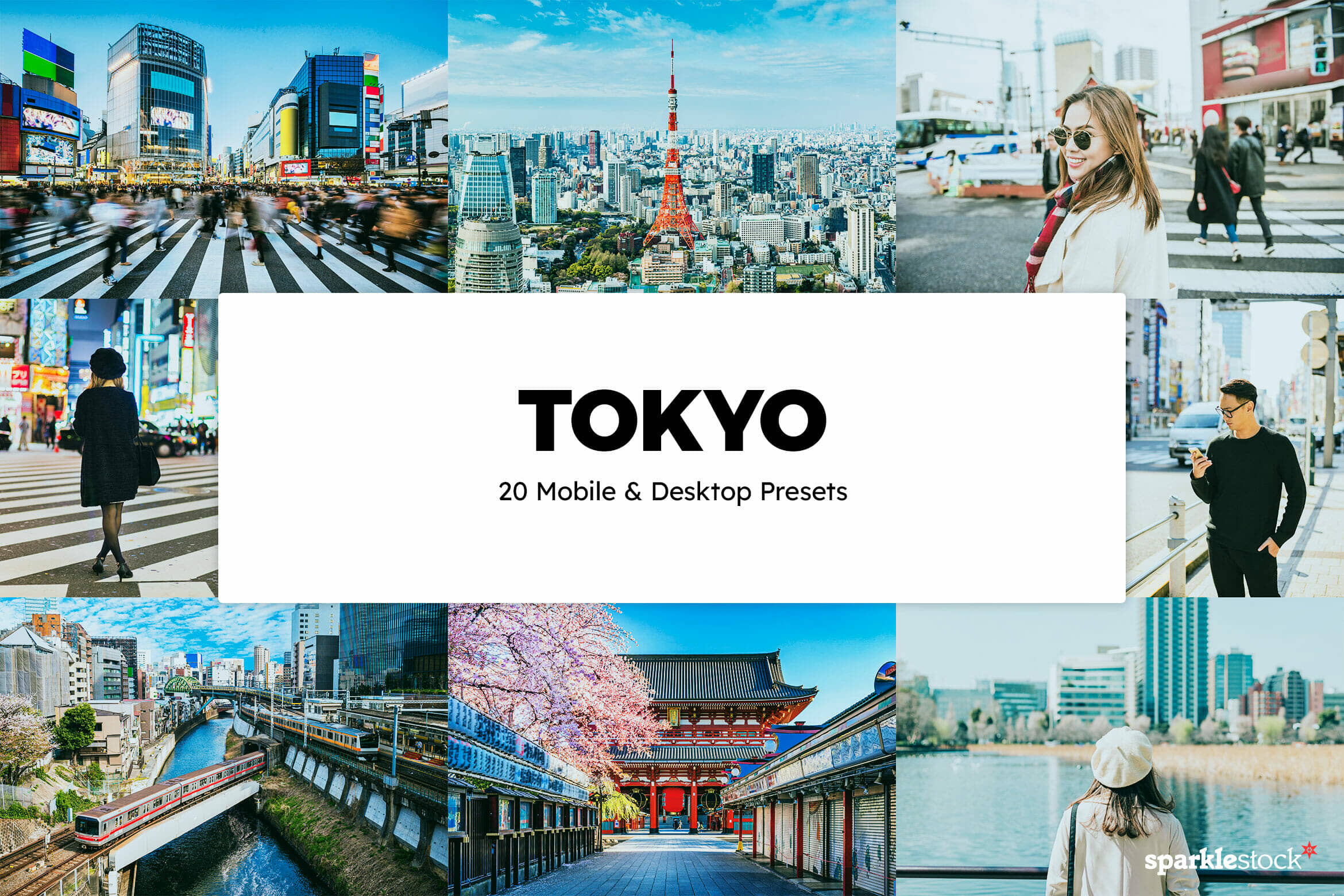 8 Free Tokyo Lightroom Presets and LUTs