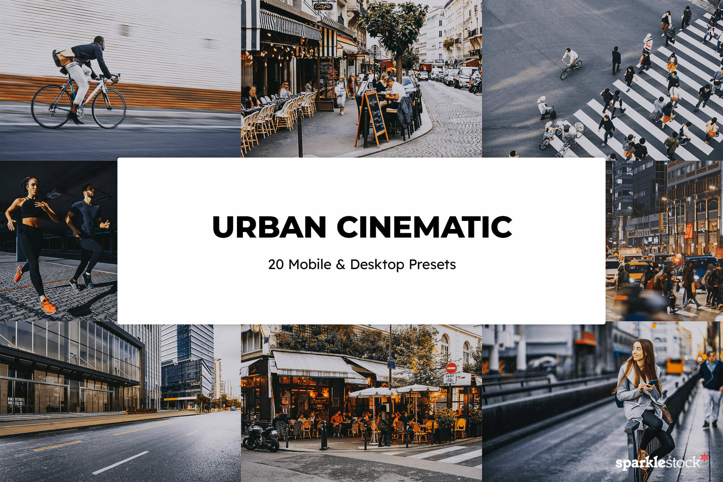 8 Free Urban Cinematic Lightroom Presets and LUTs