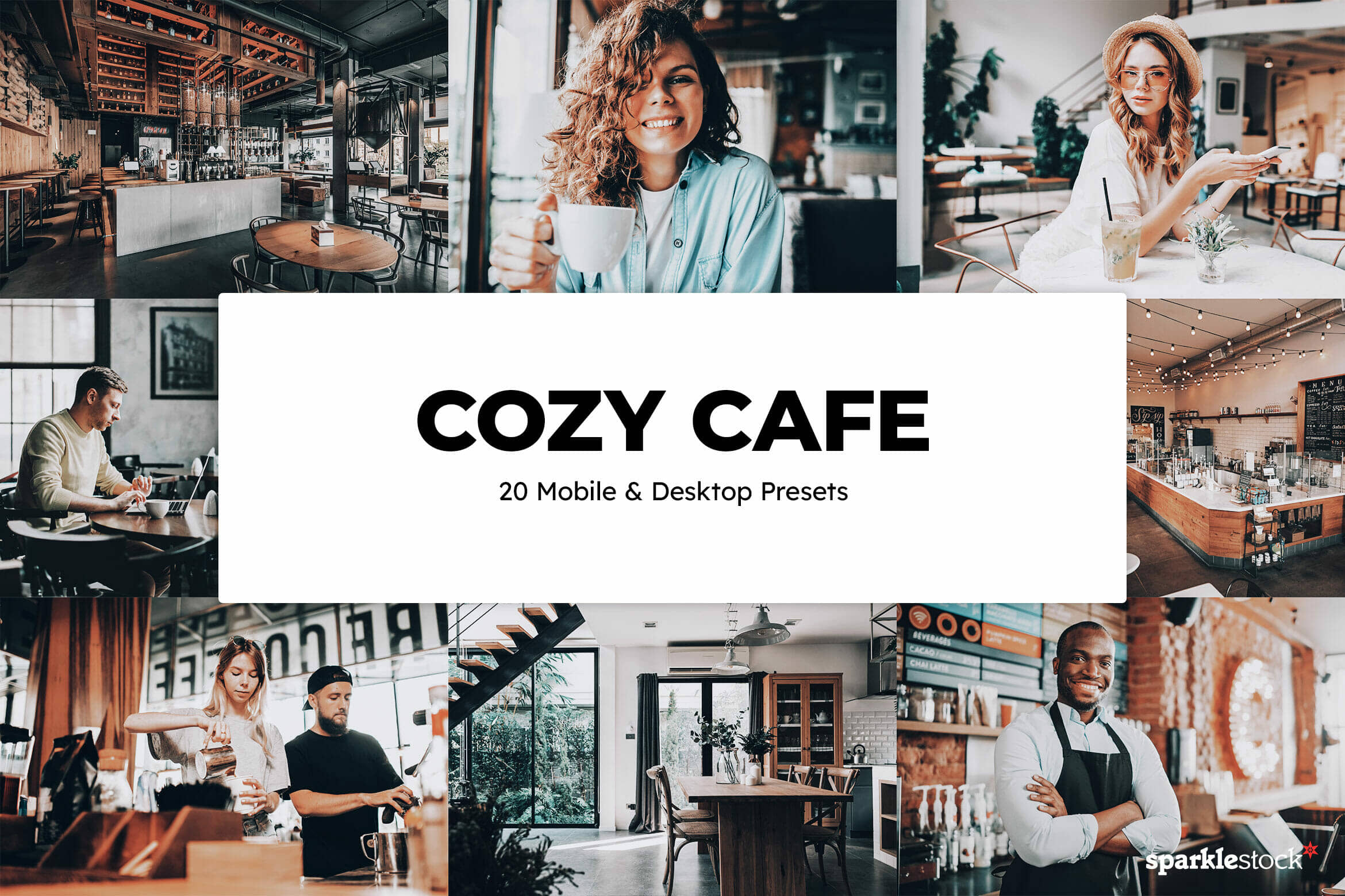 8 Free Cozy Cafe Lightroom Presets and LUTs