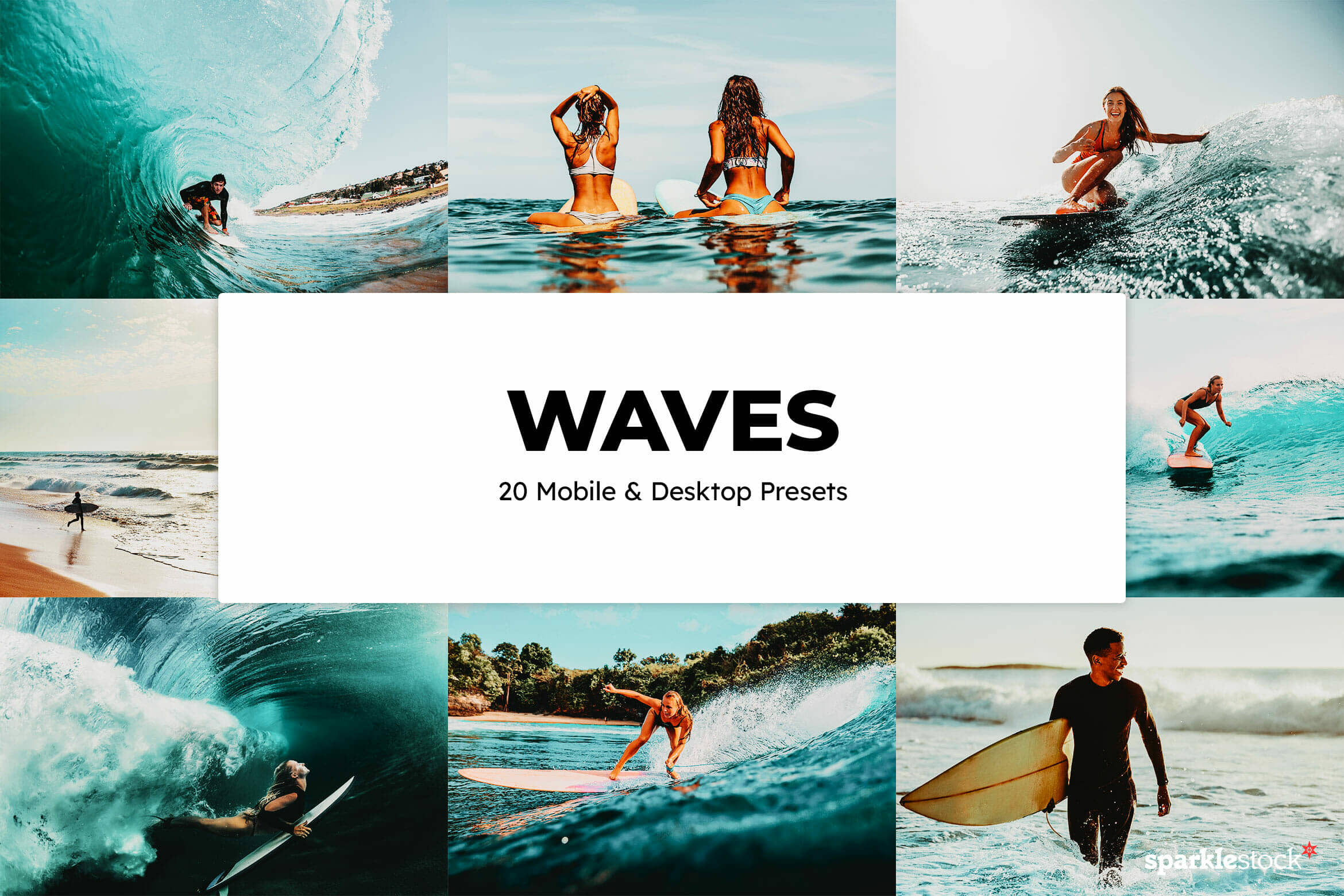 8 Free Waves Lightroom Presets and LUTs