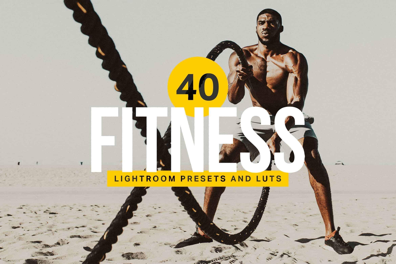 8 Fitness Lightroom Mobile and Desktop Presets