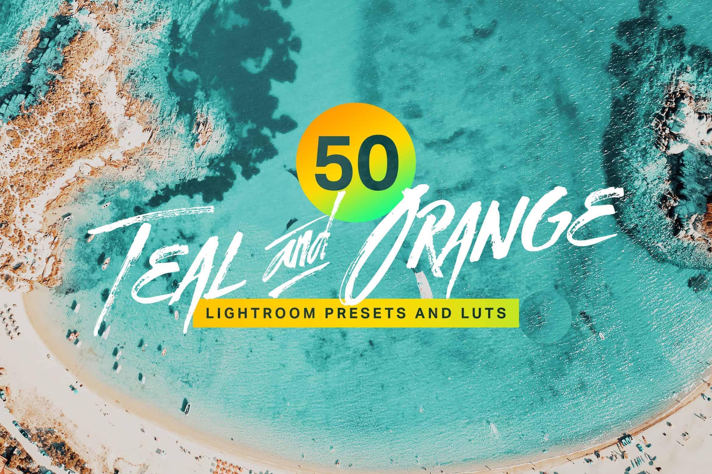 10 Teal & Orange Lightroom Mobile and Desktop Presets