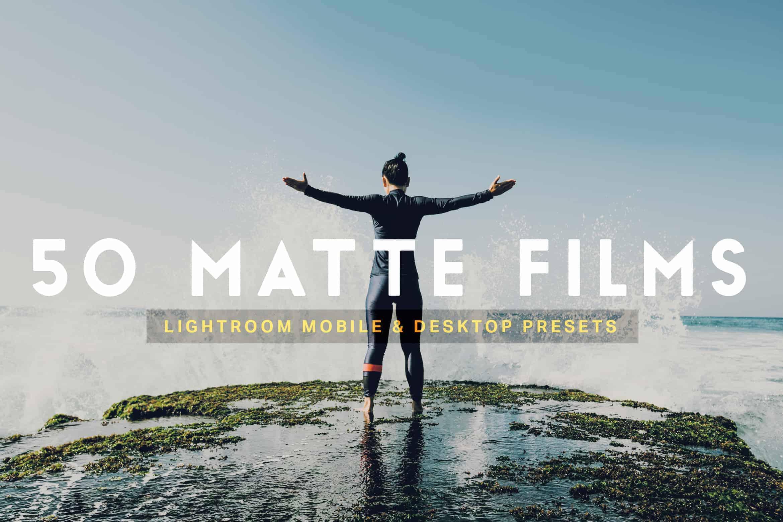 10 Matte Film Lightroom Presets