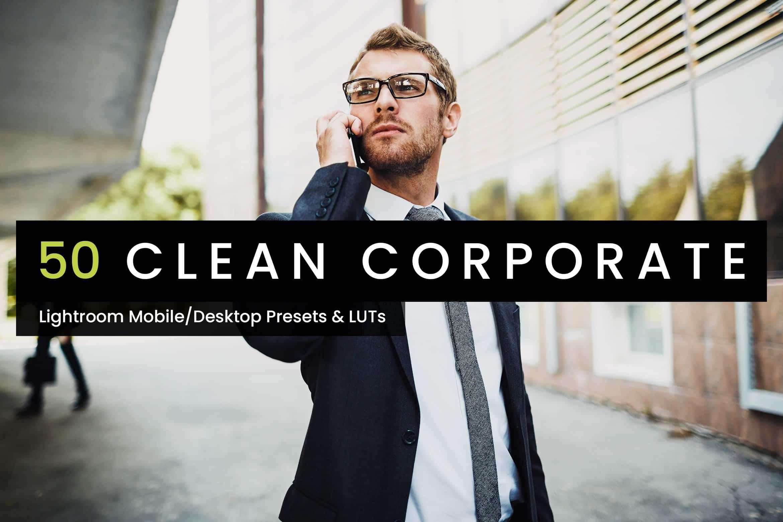 10 Clean Corporate Lightroom Presets