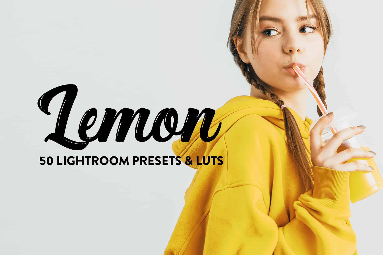 10 Lemon Yellow Lightroom Presets