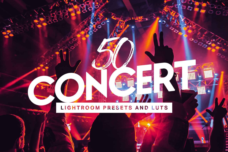 10 Concert Lightroom Presets