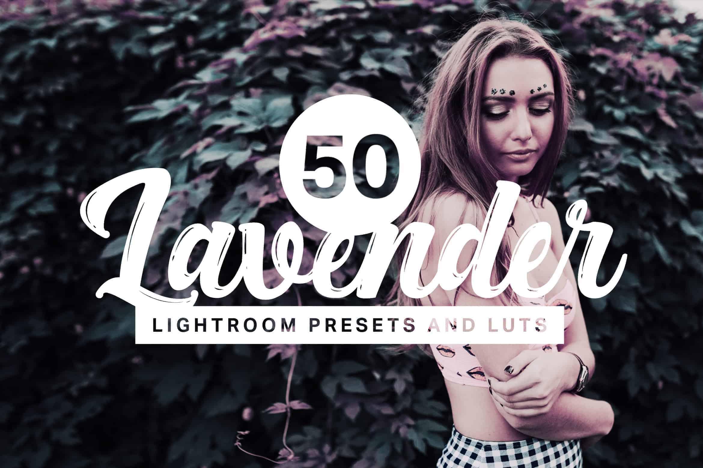 10 Lavender Purple Lightroom Presets