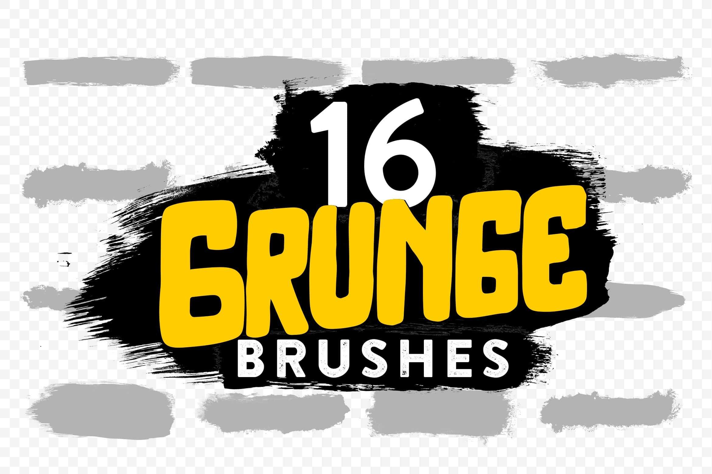 Free: 5 Grunge Stroke Photoshop Brushes