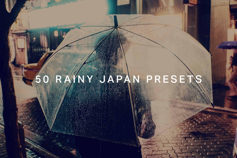 10 Rainy Japan Lightroom Presets