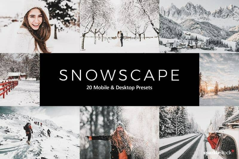 Free: 8 Lightroom Presets for Winter Snowscapes