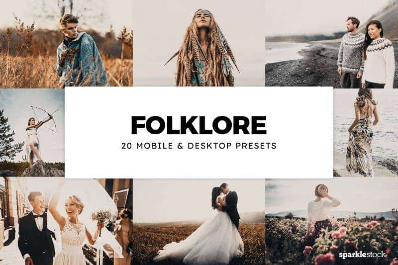 Free: 8 Folklore Lightroom Presets and LUTs