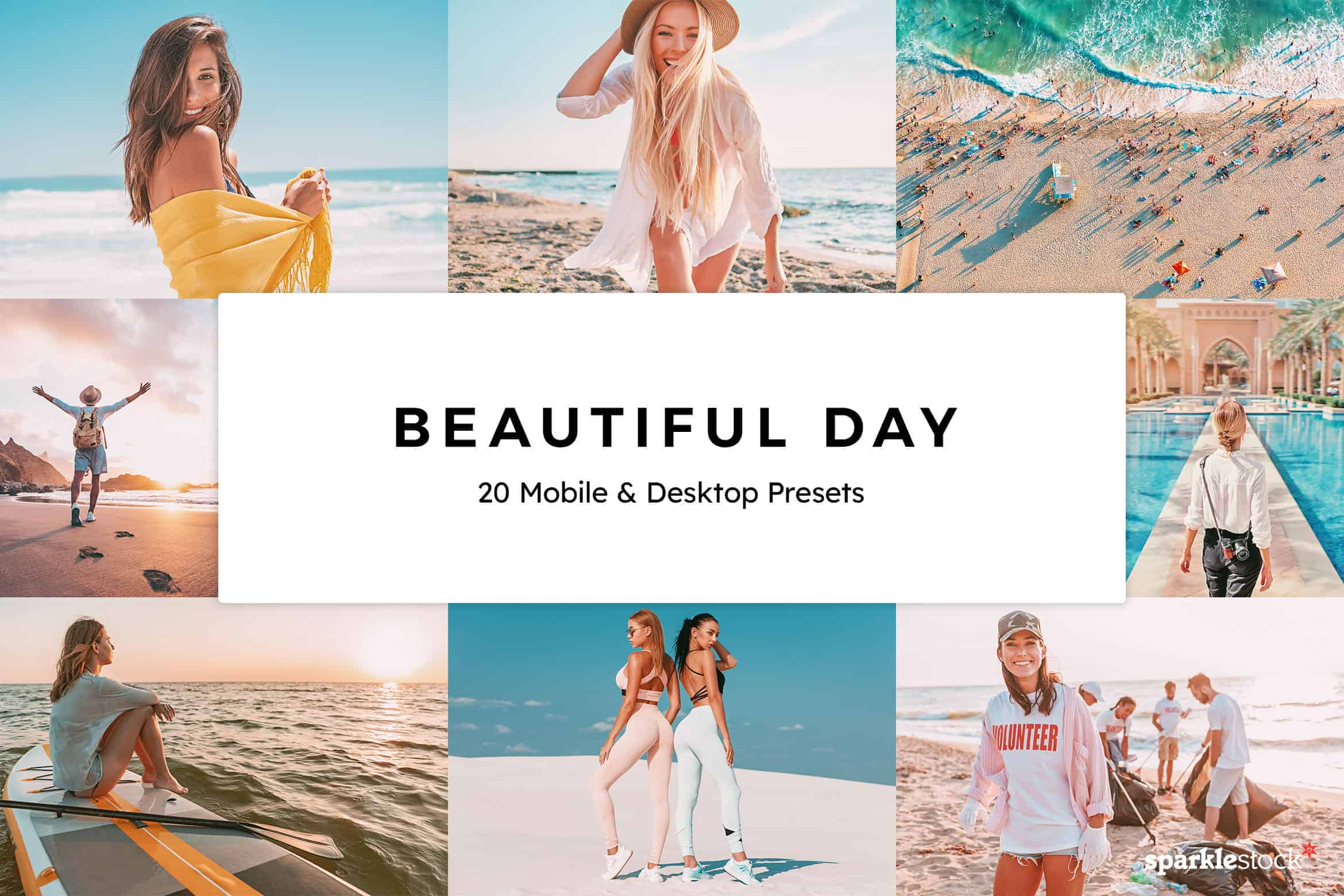 8 Free Beautiful Day Lightroom Presets and LUTs