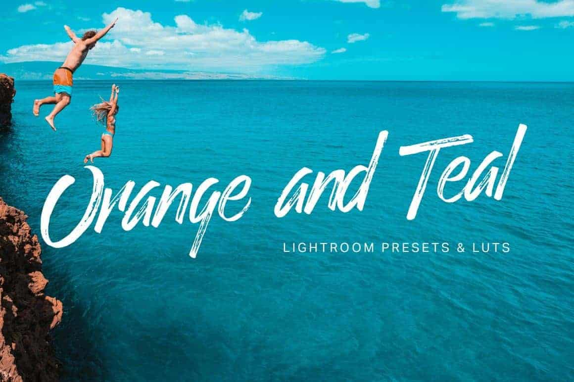 8 Free Orange and Teal Lightroom Presets and LUTS
