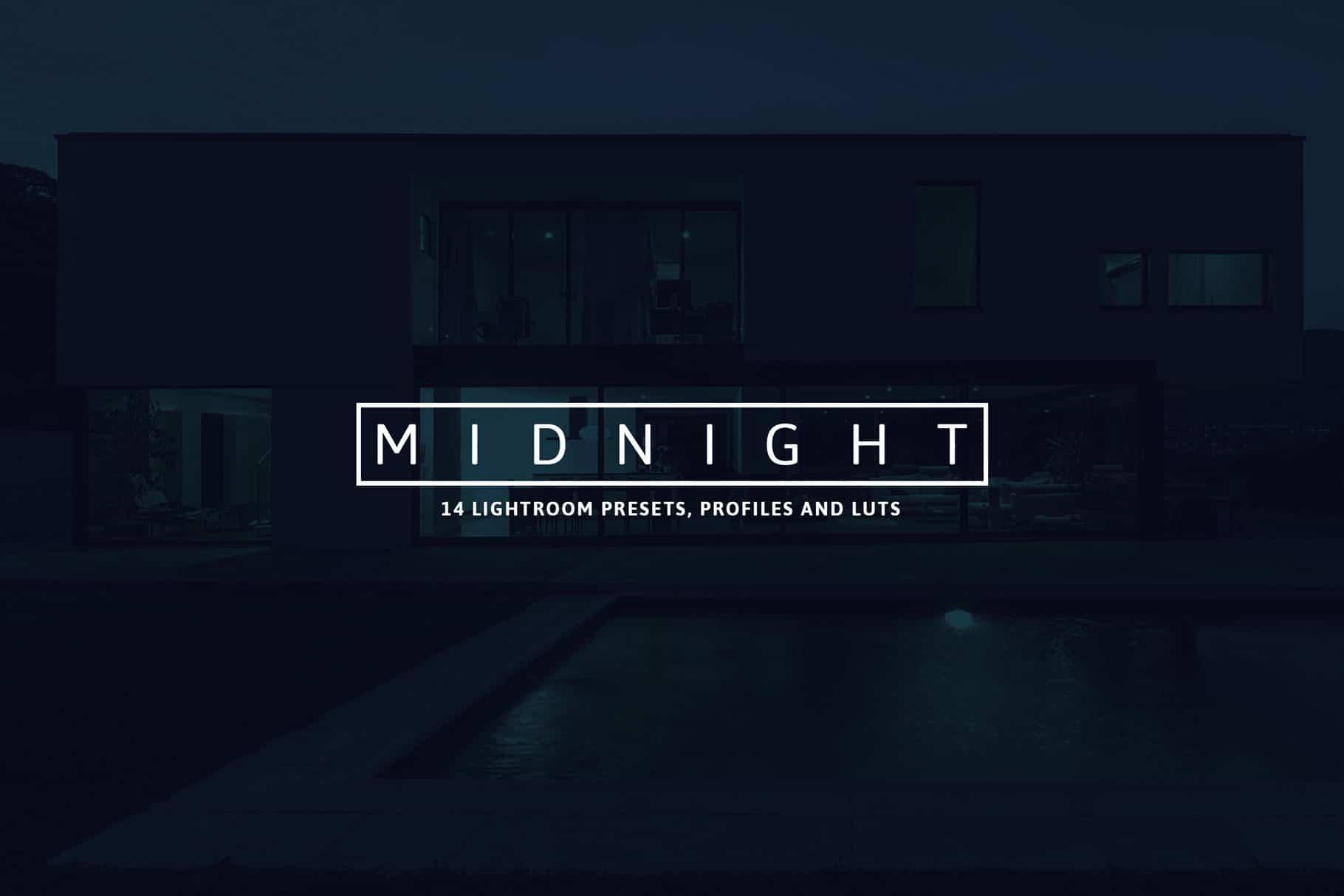 3 Midnight Lightroom Presets and Profiles