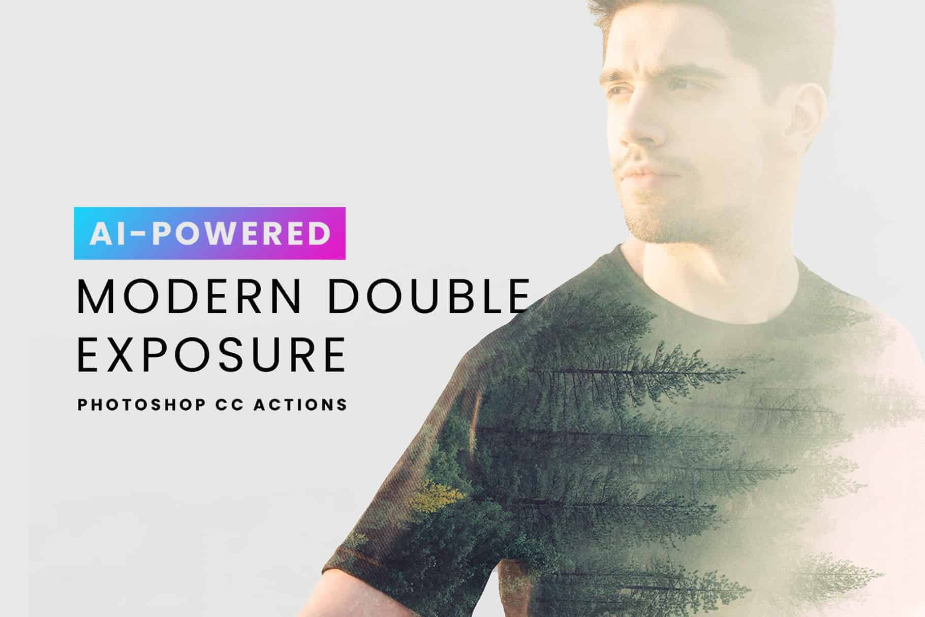 Create Double Exposures in a Few Clicks with These Ai-Powered Photoshop Actions