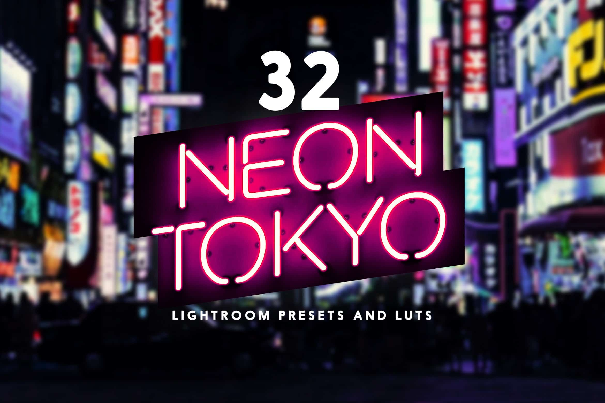 8 Free Neon Tokyo Lightroom Presets and LUTs