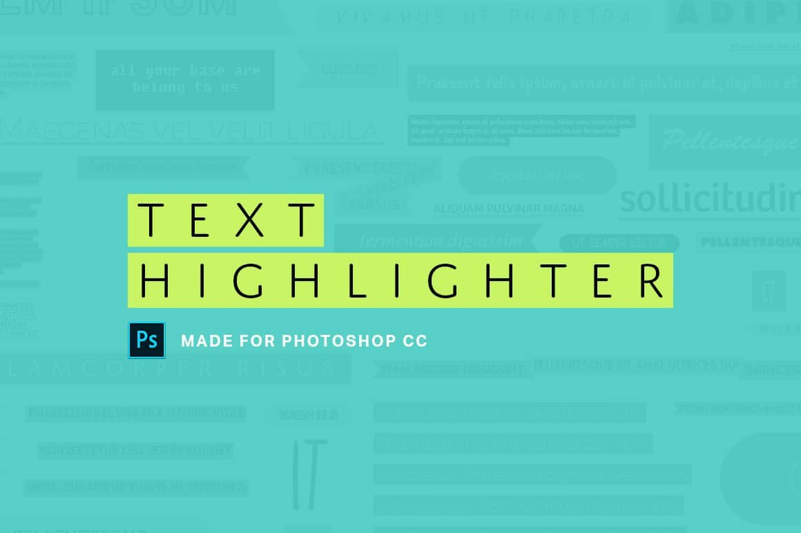 Download these Photoshop Actions to Stylize Your Text