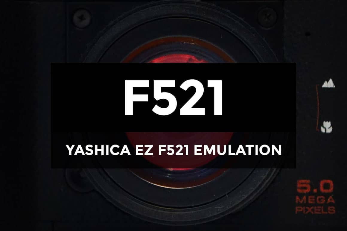Photoshop Actions that Emulate the Yashica EZ F521 Camera